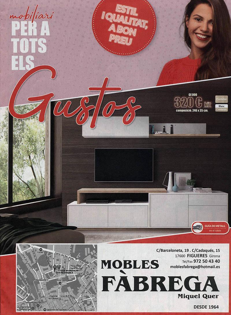 Catàleg Mobles Fàbrega P-1